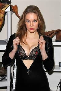 Maitland Ward in lingerie