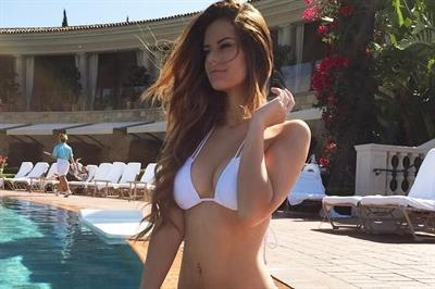 Hannah Stocking in a bikini