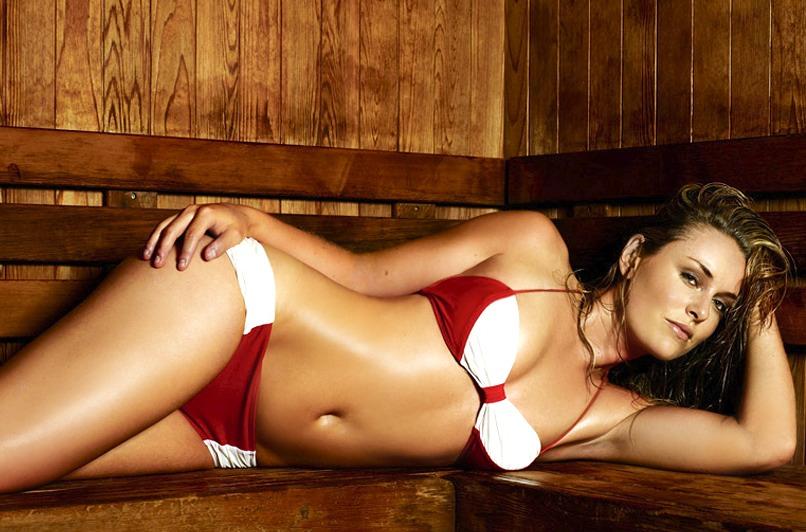 Lindsey Vonn in a bikini