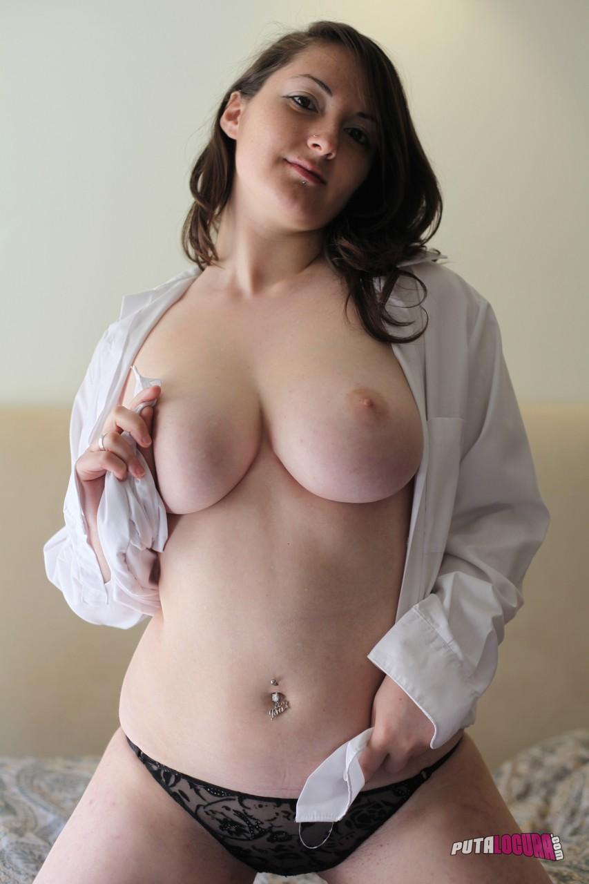 camellia - camellia busty chubby shaved amateur brunette - nudepics