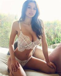 Sophie Mudd in lingerie