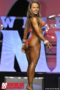 Nathalia Melo-Wilson in a bikini - ass