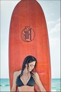 Hope Howard in a bikini