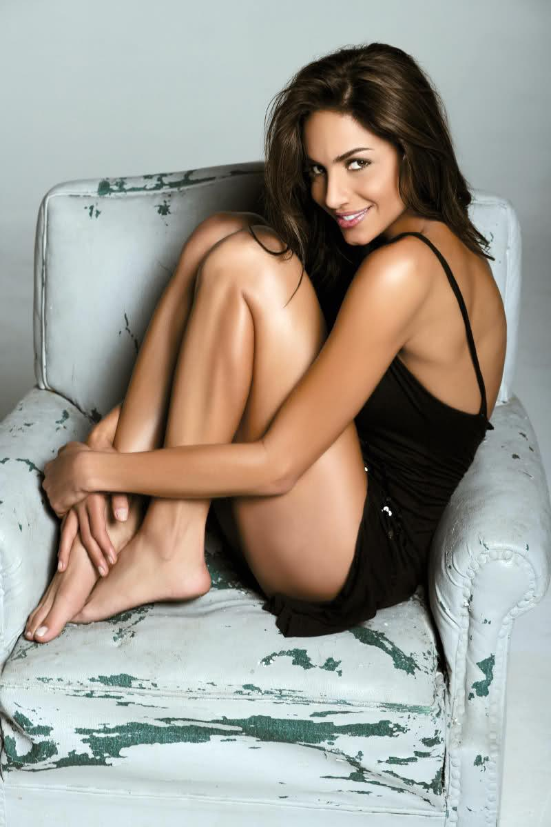 Valerie Dominguez in lingerie