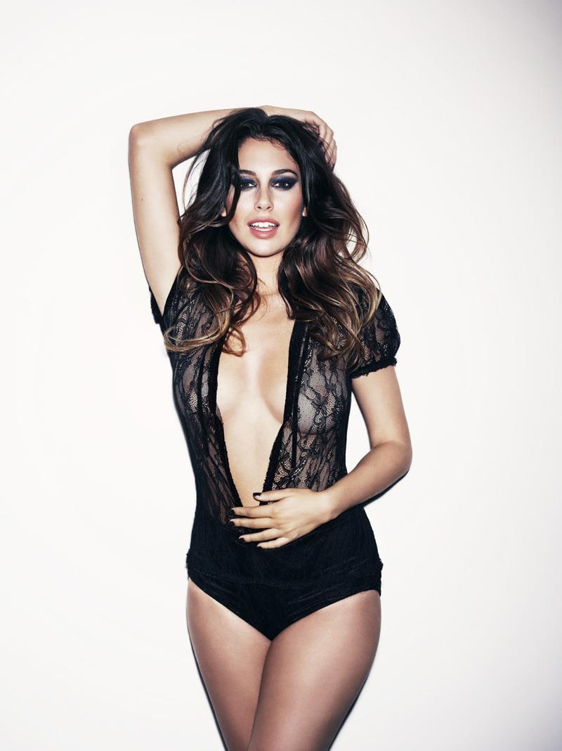 Blanca Suárez in lingerie