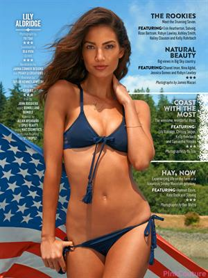 Lily Aldridge Sports Illustrated 2015
