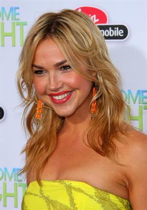 Arielle Kebbel attends the Take Me Home Tonight premiere in Los Angeles on March 2, 2011