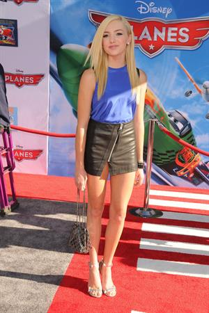 Peyton List  Planes  Los Angeles Premiere in Hollywood, Aug. 5, 2013
