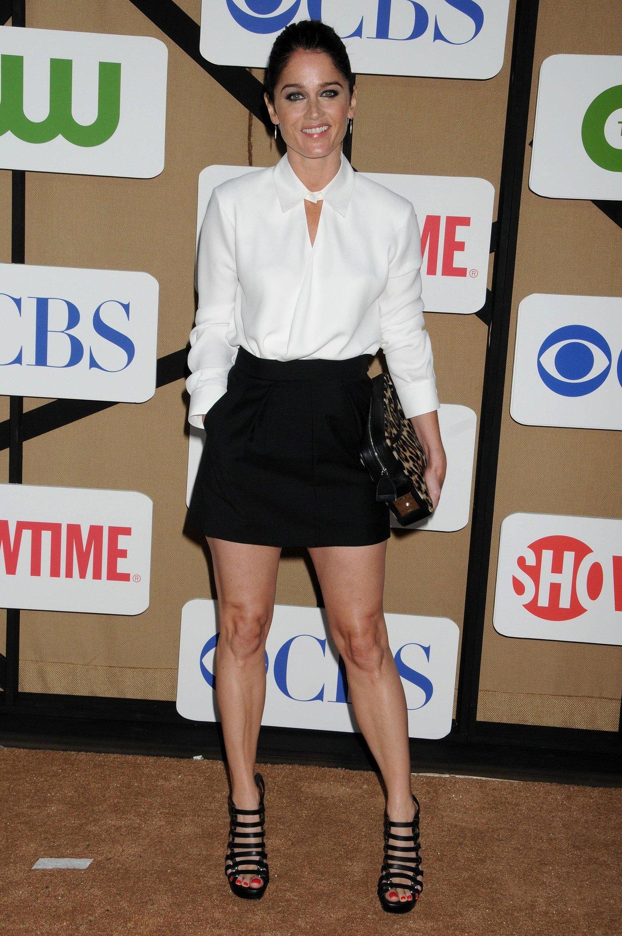Robin Tunney CBS Summer TCA Party Los Angeles California July 29, 2013