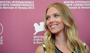 Scarlett Johansson Under The Skin Photocall in Venice 9/3/2013