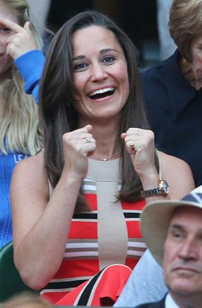 Pippa Middleton at Wimbledon Tennis Championships in London 05.07.13