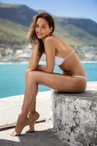 Bailey Nortje in a bikini