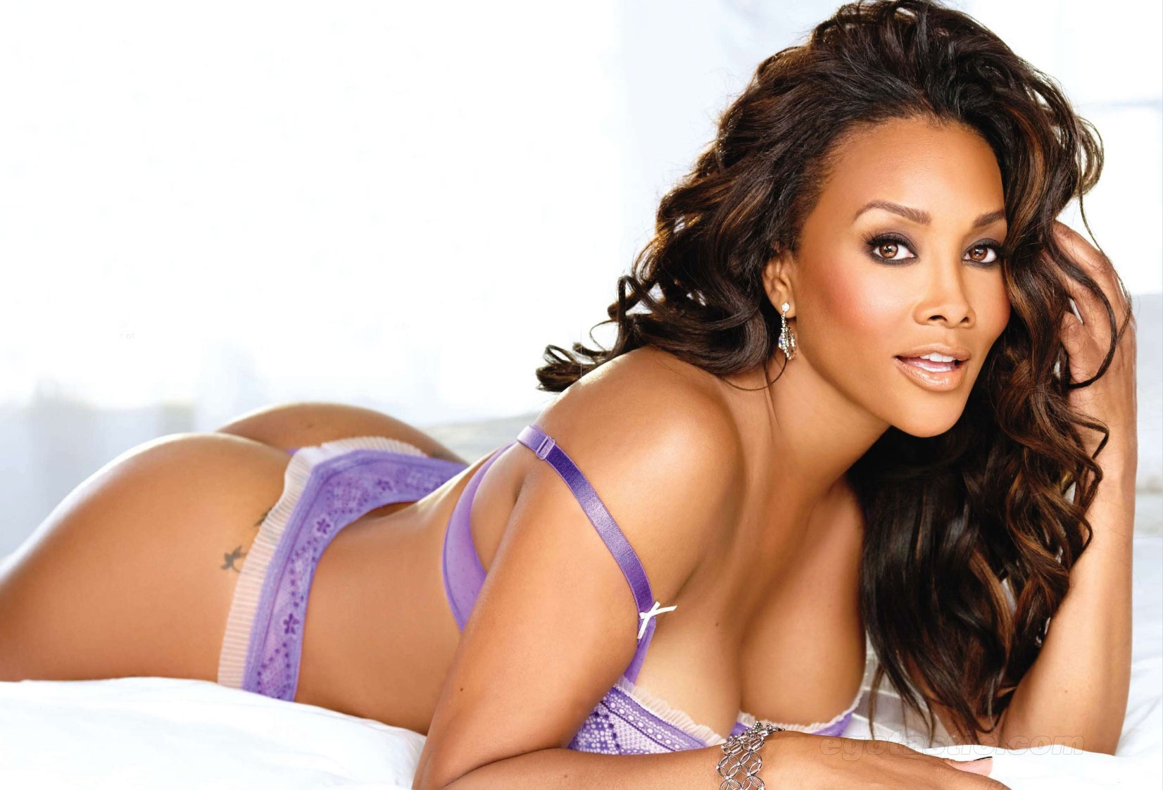 Vivica A. Fox in lingerie