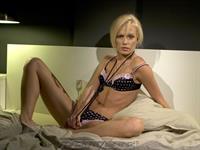 Keana Moiré in lingerie