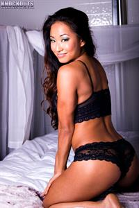 Gail Kim in lingerie