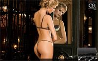Liz Solari in lingerie - ass