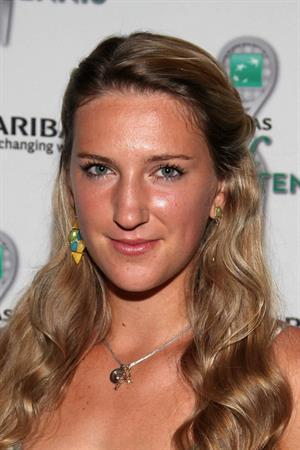 Victoria Azarenka - 13th Annual BNP Paribas Taste of Tennis in New York on August 23, 2012