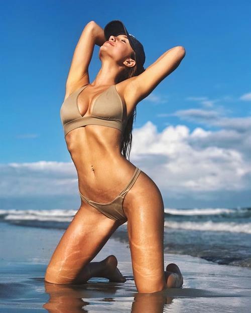 Savannah Montano in a bikini