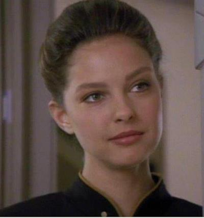 Ashley Judd played Ensign Robin Lefler on two episodes of Star Trek the Next Generation