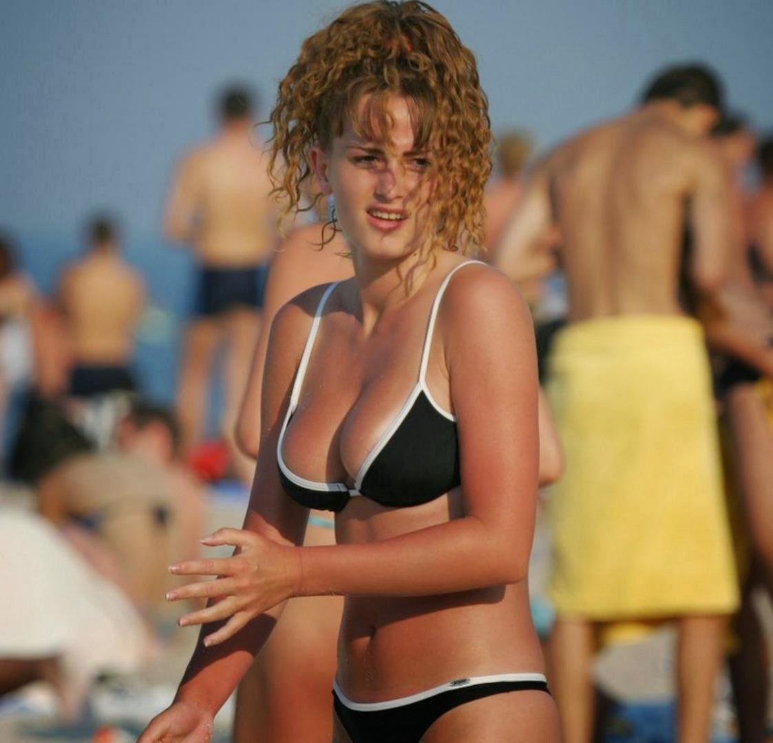Bernadette Peters in a bikini