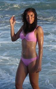 Jelena Jankovic in a bikini