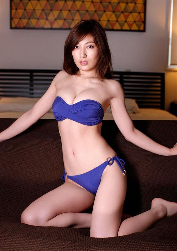 Yoko Kumada in a bikini