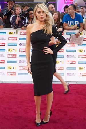 Abbey Clancy Pride of Britain Awards 2011 03/10/2011