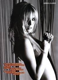 Abigail Clancy Arena mag UK May 2007