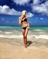 Alena Shishkova in a bikini