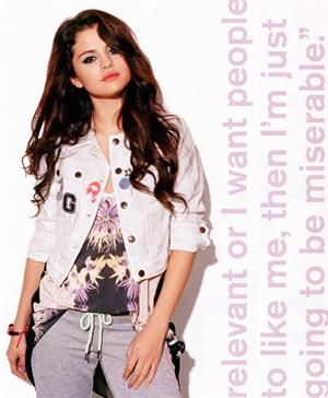 Selena Gomez Nylon (US) February, 2013