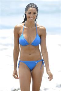Katie Cleary in a bikini