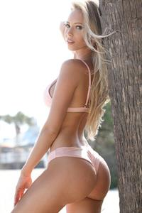 Amanda Taylor in a bikini - ass