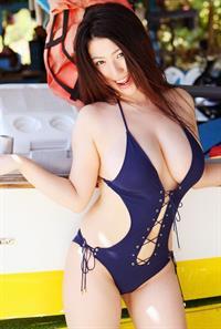 Nonami Takizawa in a bikini