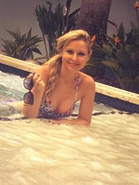 Charli Robinson in a bikini