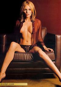 Patsy Kensit in lingerie