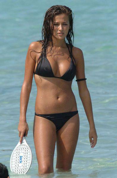 Giorgia Palmas in a bikini