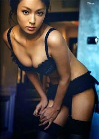 Kyoko Fukada in lingerie
