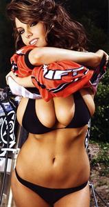Rachael Neiberding in a bikini