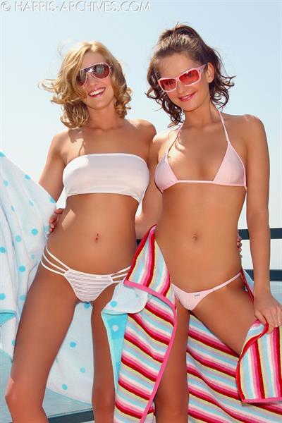 Carli Banks in a bikini