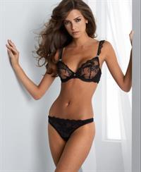 Barbara Herrera in lingerie