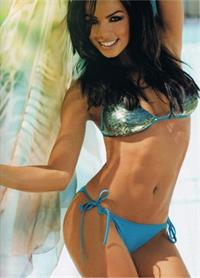 Fernanda Brandao in a bikini
