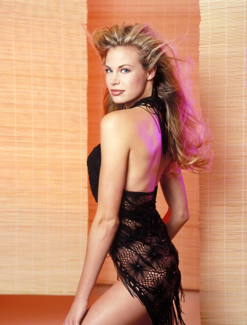 Brooke Burns in lingerie