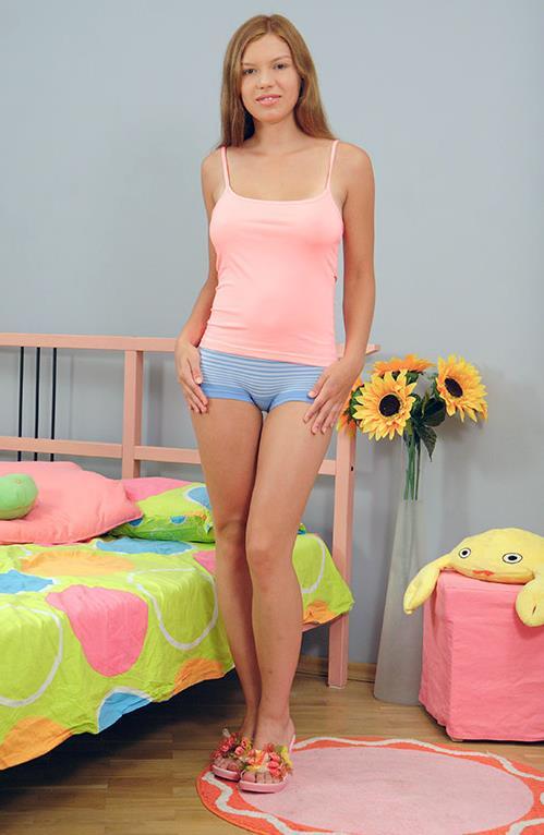 Keri in lingerie