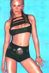 Brittany Daniel in a bikini