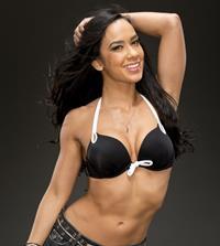 AJ Lee in a bikini