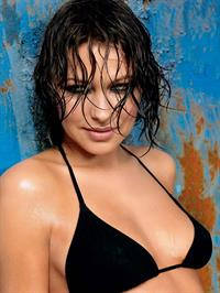 Emma Willis in a bikini