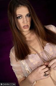 Faith Leon in lingerie