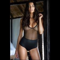 Lauren Mellor in lingerie