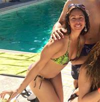Tenille in a bikini