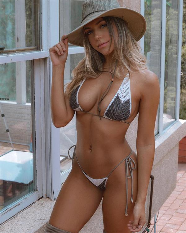 Lara McWhorter in a bikini